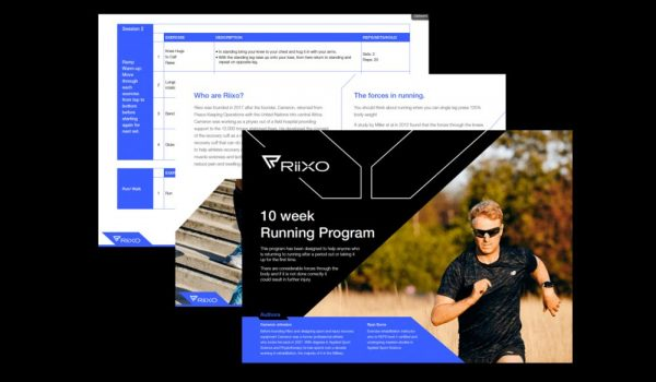 Riixo Recovery Free 10-week running program
